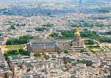 View at Invalides house Royalty Free Stock Images