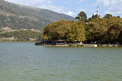 View of Ioannina city in Greece Royalty Free Stock Images
