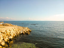 View of the Ionian sea Stock Photo