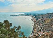 View Of The Ionian Sea Stock Photos