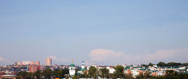 View of the Irkutsk, Russia. Royalty Free Stock Photography