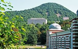 View on Iron mountain royalty free stock image