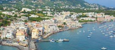 View of Ischia Ponte Stock Photos