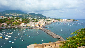 View of Ischia Ponte Royalty Free Stock Images