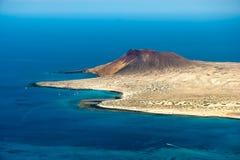 View of Isla Graciosa Royalty Free Stock Image