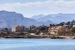 View of Isla Plana, Murcia, Spain Stock Photos