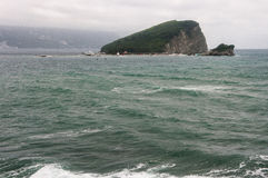 View of the island. In the Adriatic Sea Stock Images