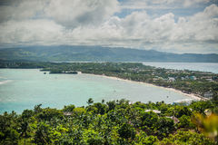 View of the island of Boracay Royalty Free Stock Image