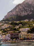 View of the Island of Capri Royalty Free Stock Photos