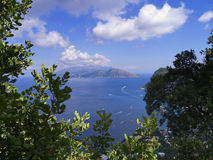 View from the Island of Capri Royalty Free Stock Photo