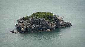 View of island in Cat Ba island Royalty Free Stock Photography