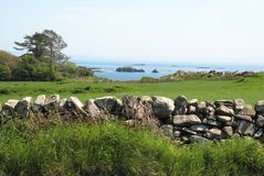 View from Island of Islay, Scotland. The shoreline of the island of Islay in Scotland, the United Kingdom stock photo