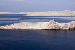 View on the island of Pag Stock Images