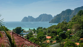 View of the island  Phi Phi Don ,Thailand Stock Image