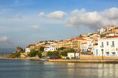 View of the island. Pylos has a long history. Royalty Free Stock Photography