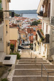 View of the island. Pylos has a long history Royalty Free Stock Images
