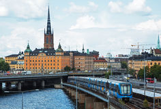 View of the island of Riddarholmen Royalty Free Stock Image