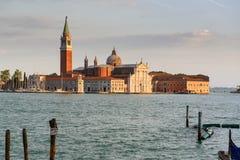 View on Island of Saint Giorgio Maggiore, Venice Royalty Free Stock Photos
