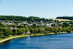View of the island, in Sweden Scandinavia North Europe. View of the island, beautiful photo digital picture royalty free stock photos