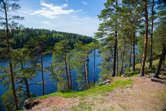 View on the island of Valaam in Russia Stock Photography