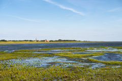 View of the island of Wangerooge Stock Photo