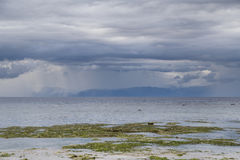 View of the islands from the beach. Stock Photography