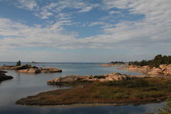View of islands in Georgian Bay Stock Image