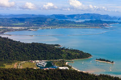 View of the islands of Lankawi Stock Photos