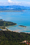 View of the islands of Lankawi Royalty Free Stock Photography