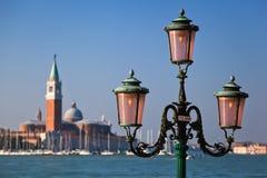 View on the isle San Giorgio Maggiore Stock Image