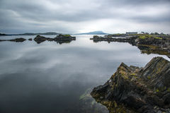 The View From the Isle of Seil Stock Image