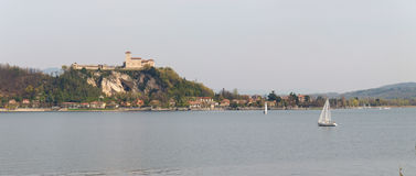 View of Isola Bella Stock Image