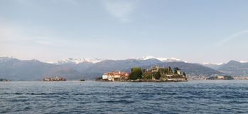View of Isola Bella Stock Photos