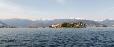 View of Isola Bella Stock Photography