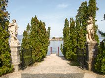 View of Isola Bella Stock Photos