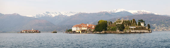 View of Isola Bella Stock Photo