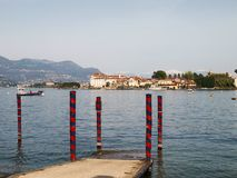 View of Isola Bella Royalty Free Stock Photos