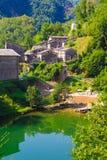 View of Isola Santa village in Garfagnana Royalty Free Stock Photography