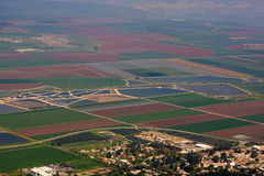 View on israel valley Royalty Free Stock Photo