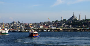 A view of Istanbul. Royalty Free Stock Photography