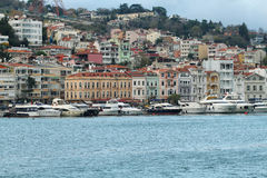 View of Istanbul from a boat Royalty Free Stock Photo