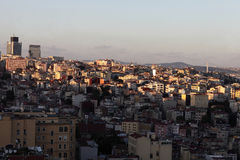 View of Istanbul city from Galata Tower Royalty Free Stock Photography