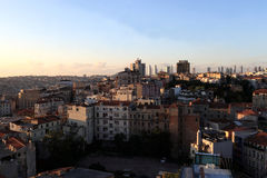 View of Istanbul city Royalty Free Stock Images