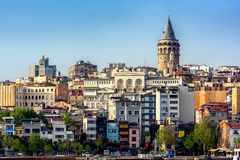 View of Istanbul Royalty Free Stock Photos