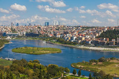 View of Istanbul and the Golden Horn Stock Images