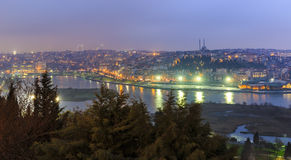 View of Istanbul from the lookout Royalty Free Stock Photography