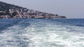 View of Istanbul from the sea Stock Image