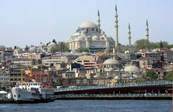 A view of istanbul, turkey. Royalty Free Stock Images