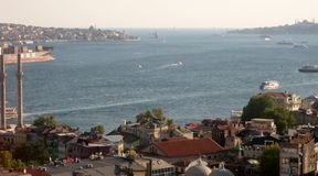 View of Istanbul, Turkey Stock Image