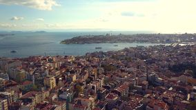 Lively istanbul turkey on a sunny day Royalty Free Stock Photos